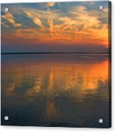 Lovely Lakeside View Acrylic Print