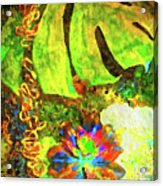 Lovely Leaves Acrylic Print