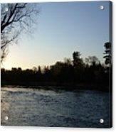 Lovely Light On Mississippi River Acrylic Print