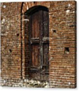 Lovely Old Door Acrylic Print