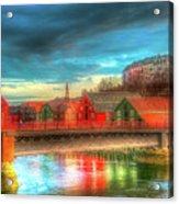 Lovely Trondheim Norway Acrylic Print