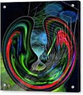 Lovers II Acrylic Print