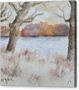 Lovers' Lake Acrylic Print