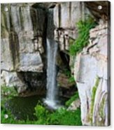 Lover's Leap Waterfall Acrylic Print