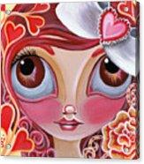 Lovey Dovey Acrylic Print