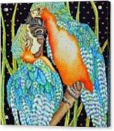 Loving Birds Acrylic Print