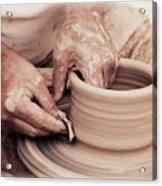 Loving Hands Creation Acrylic Print