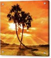 Loving Trees Acrylic Print