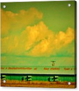 Low And Low Green Building Acrylic Print