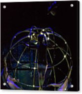 Low Budget Spacecraft Acrylic Print