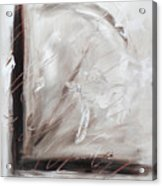 Low Cool Abstract Painting Acrylic Print