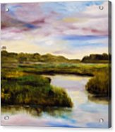 Low Country Acrylic Print by Phil Burton