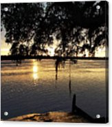 Low Country Sunset Acrylic Print