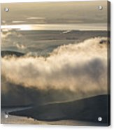 Low Hanging Clouds Acrylic Print