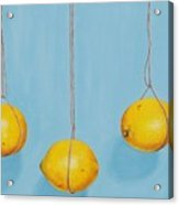Low Hanging Lemons Acrylic Print