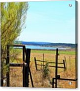 Low Land By The Lake Acrylic Print