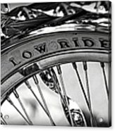 Low Rider In Black And White Acrylic Print