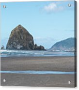 Low Tide At Cannon Beach Acrylic Print