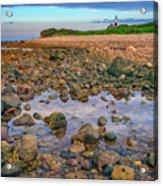 Low Tide At Montauk Point Acrylic Print