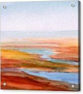 Low Tide Cape Cod Acrylic Print