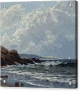 Low Tide, Hetherington's Cove, Grand Manan By Alfred Thompson Bricher Acrylic Print