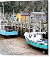 Low Tide In St. Martins Acrylic Print