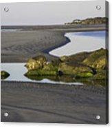 Low Tide On Tybee Island Acrylic Print