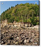 Low Tide Panorama Acrylic Print