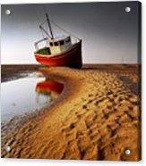 Low Tide Acrylic Print