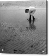 Low Tide Pool Two  Acrylic Print