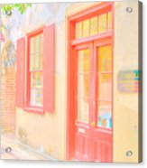 Lowcountry Catfish Row Acrylic Print