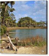 Lowcountry Lagoon Acrylic Print
