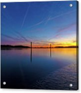 Lowcountry Sunset Acrylic Print