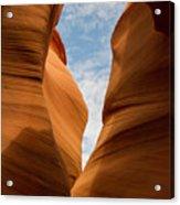 Lower Antelope Slot Canyon, Page, Arizona Acrylic Print