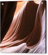 Lower Antelope Slot Canyon Acrylic Print