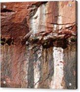 Lower Emerald Pool Rock-zion National Park Acrylic Print