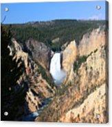 Lower Falls @ Yellowstone National Park Acrylic Print