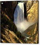 Lower Falls 2 Acrylic Print by Marty Koch
