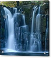 Lower Johnson Falls 2 Acrylic Print by Larry Ricker