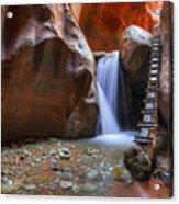Lower Kannara Creek Falls Acrylic Print