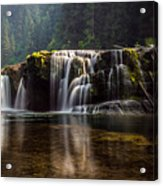Lower Lewis Falls Acrylic Print