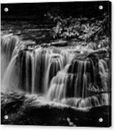 Lower Lewis Falls Washington State Acrylic Print