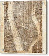 Lower Manhattan Acrylic Print