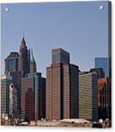 Lower Manhattan Nyc #2 Acrylic Print