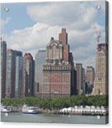 Lower Manhattan Panorama Acrylic Print