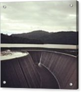 Lower Nihotipu Dam Acrylic Print