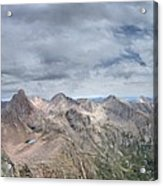 Lower North Eolus From The Catwalk - Chicago Basin - Weminuche Wilderness - Colorado Acrylic Print