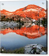 Lower Ottoway Lake Sunset - Yosemite Acrylic Print