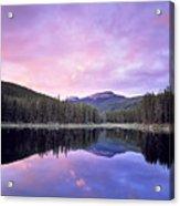 Lower Seymor Lake Acrylic Print