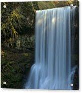 Lower South Falls Closeup Acrylic Print